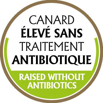 Logo canard traitement sans antibiotique